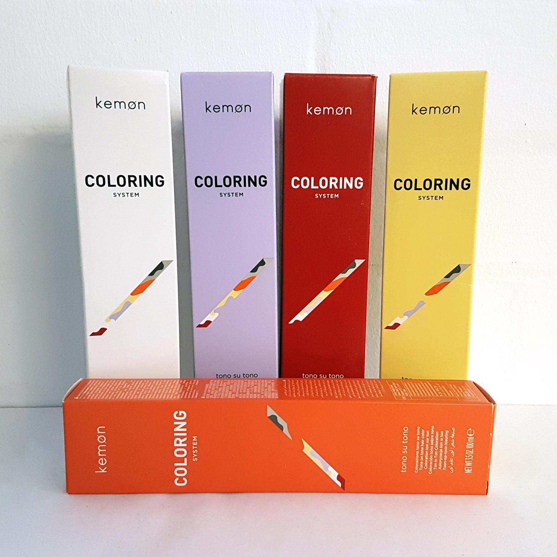 KEMON Coloring System Tono Su Tono 100 ml