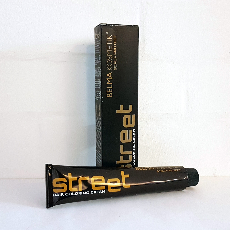 BELMA Kosmetik Street Hair Coloring Cream - 7.8 Medium Beige Blonde