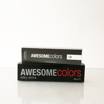 Awesome colors silky shine Tönung 55/46 - Hellbraun Intensiv Rot -Violett