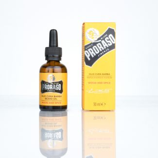 Bartöl Proraso Wood & Spice 30 ml
