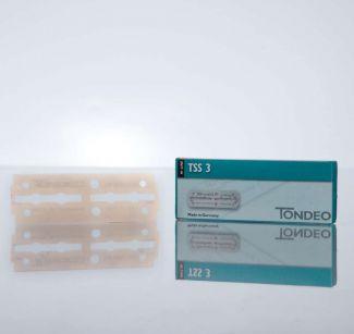 Rasierklingen für Wechselklingenmesser TONDEO TSS3 extra lang 10er Pack