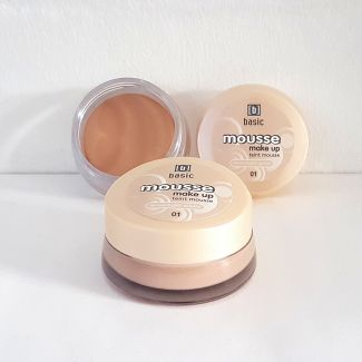 basic Mousse Make Up Nuance 01 mattierendes Finish 15ml (3er Pack)